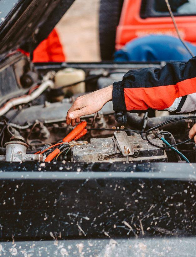 Recarregar sua Bateria para carro